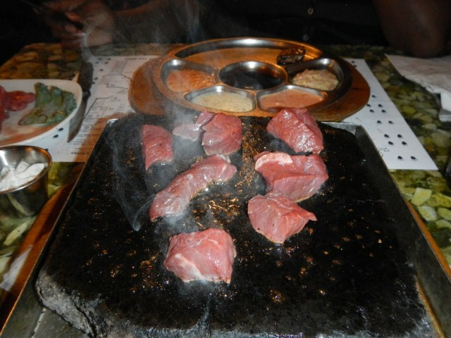 Grizzly House Hot Stone Cooking