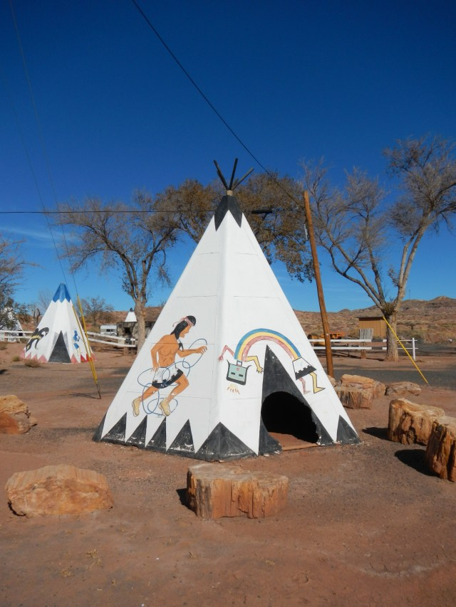 Teepee in Arizona