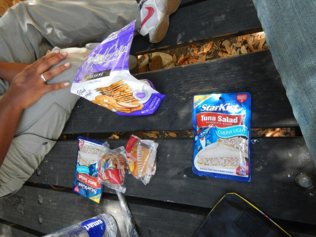 Picnic in Kings Canyon National Park