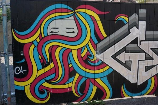 Character Graffiti Street Art
