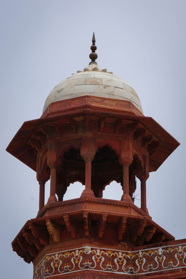 Taj Majal North Gate Dome