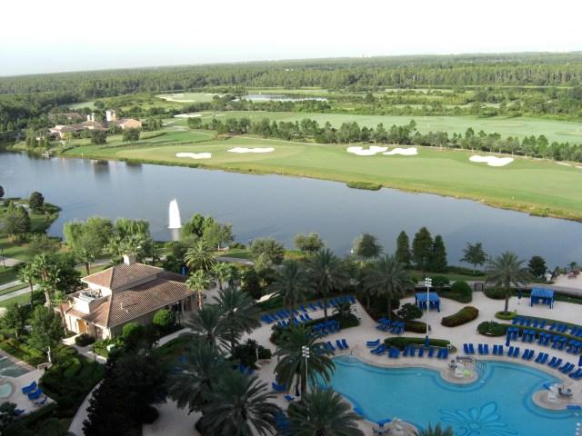 Room with a view - Ritz Carlton Orlando
