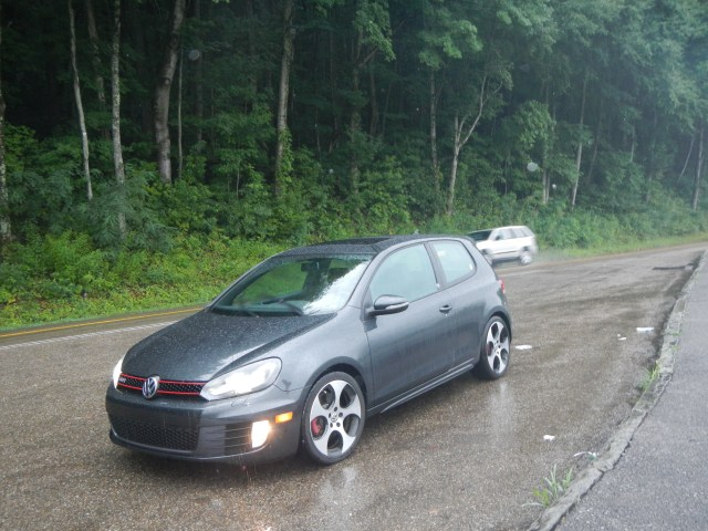 GTI in the rain