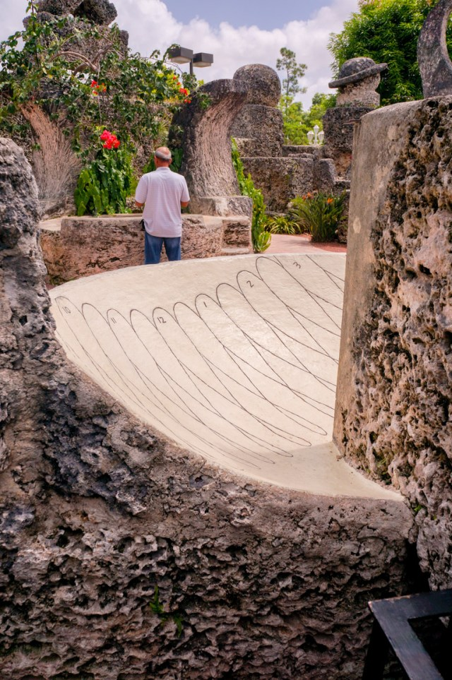 The Coral Castle Sundial is considered to be one of a kind
