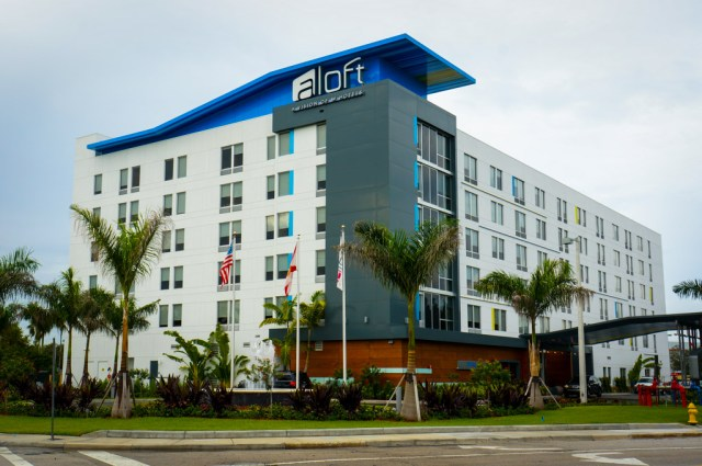 Aloft Hotel Review Building Exterior