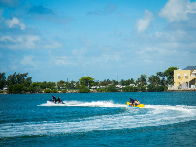 Part of the Ski and Splash Adventure with Tropical Sailing Miami