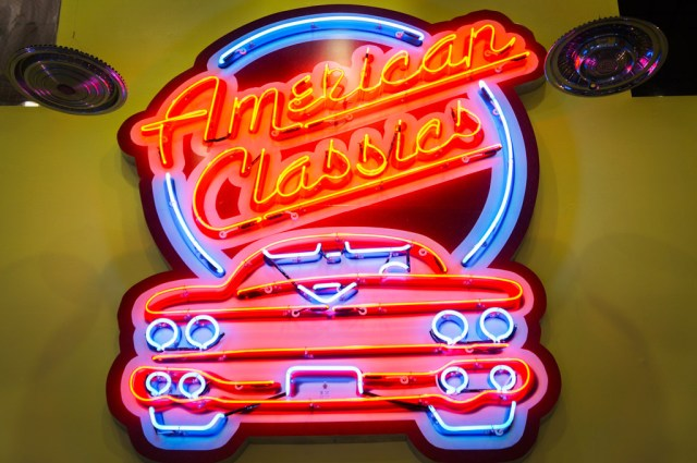 American Classigs sign at The Dezer Collection Car Museum