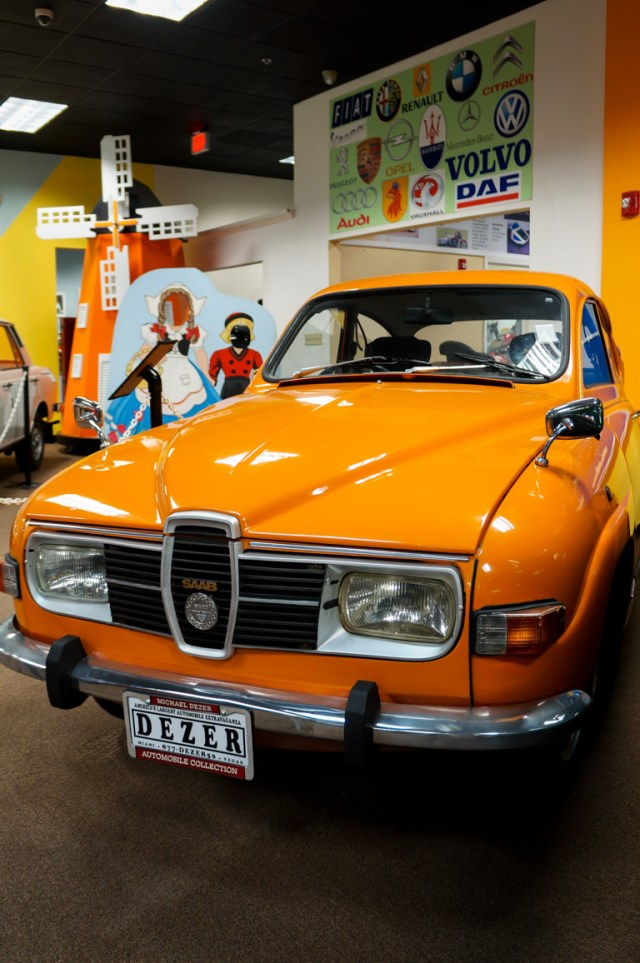 Saab at the Miami Automobile Museum