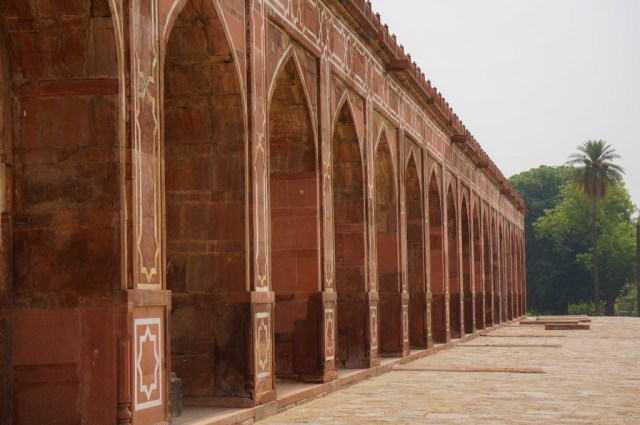 Main Wall of Humayun's Tomb