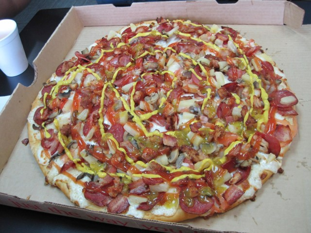 Trinidadian Pizza