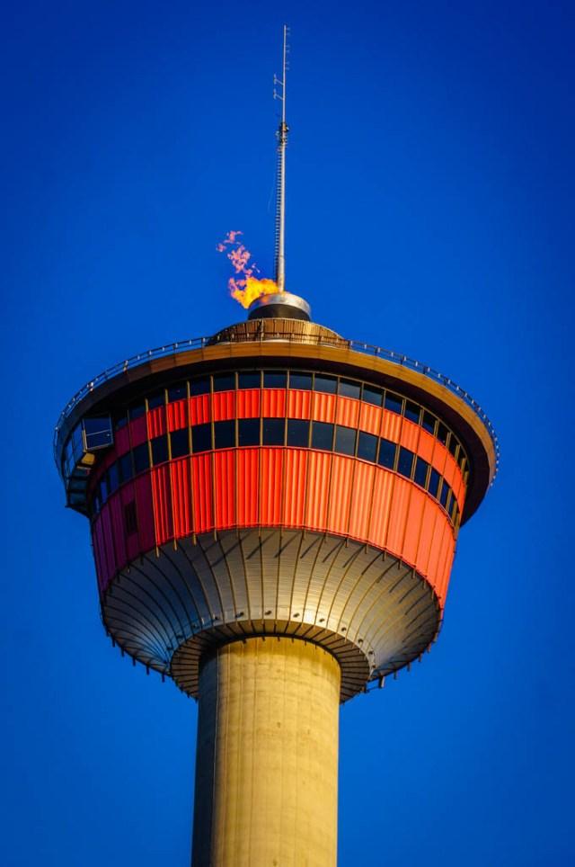 Calgary Tower Flame