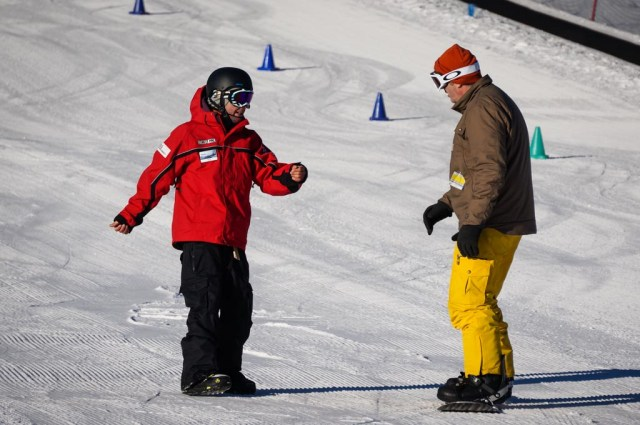 Chris, our snowboarding instructor