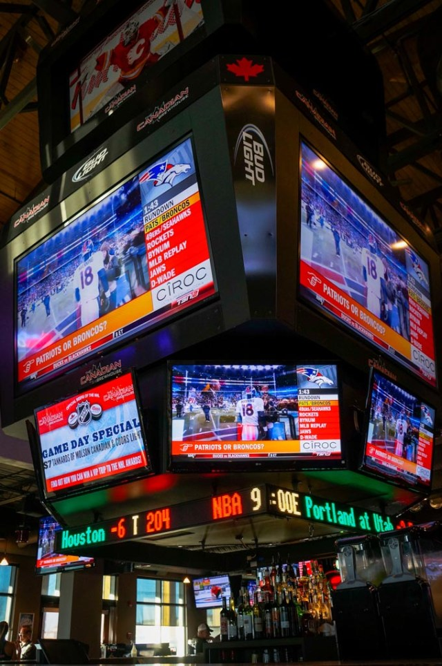 The Canadian Brewhouse Tvs