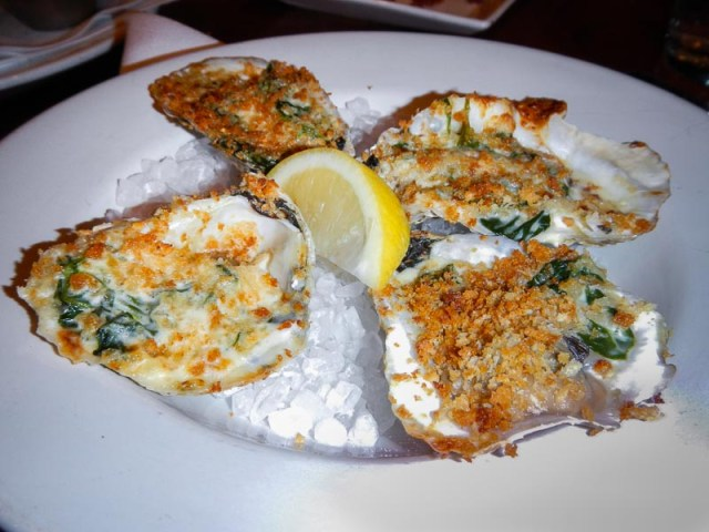 Oysters Rockefeller - Phillips Seafood Review