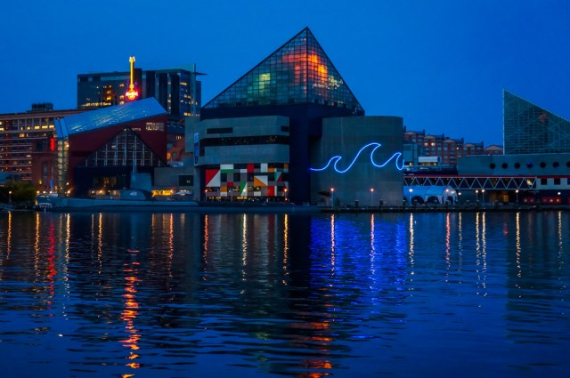 Review National Aquarium Baltimore Inner Harbor