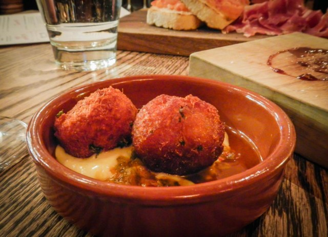 Croquettes at Ox and Angela