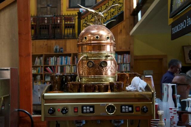 Fancy coffemaker