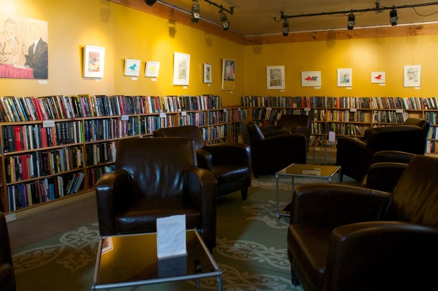 Comfy couches in Midtown Bookstore Harrisburg