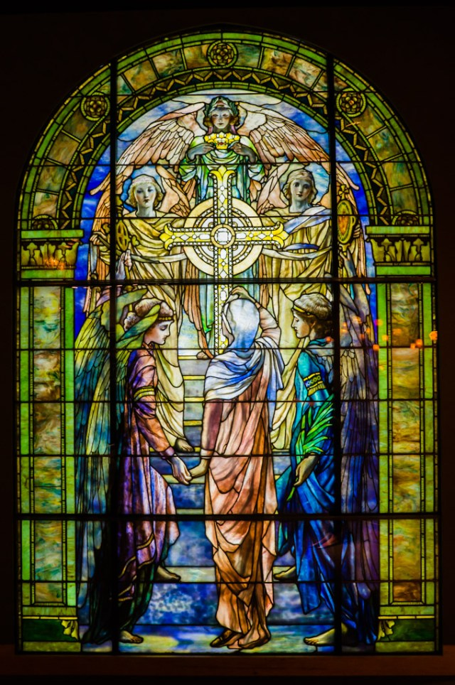 Stained Glass window at Corning Museum of Glass