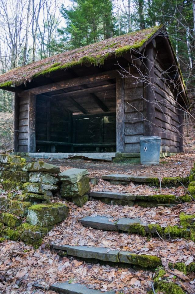 Old Hut at Watkins Glen State Park