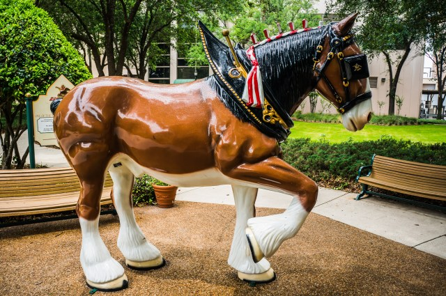 Larry the Clydesdale