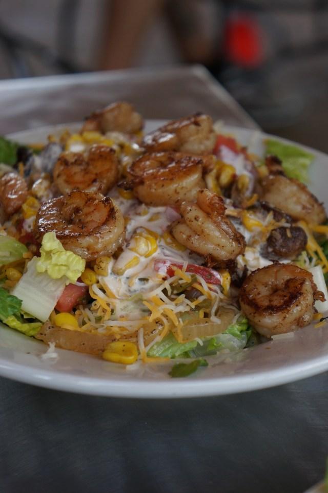 Shrimp salad from Zippy's