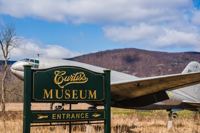 Curtiss Museum exterior Hammondsport, NY