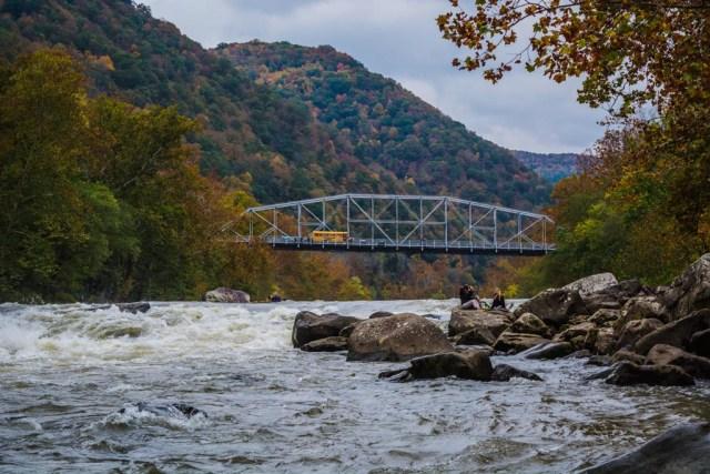 new river gorge bottom