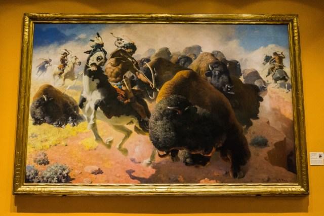 The Buffalo Hunt William R Leigh 1947