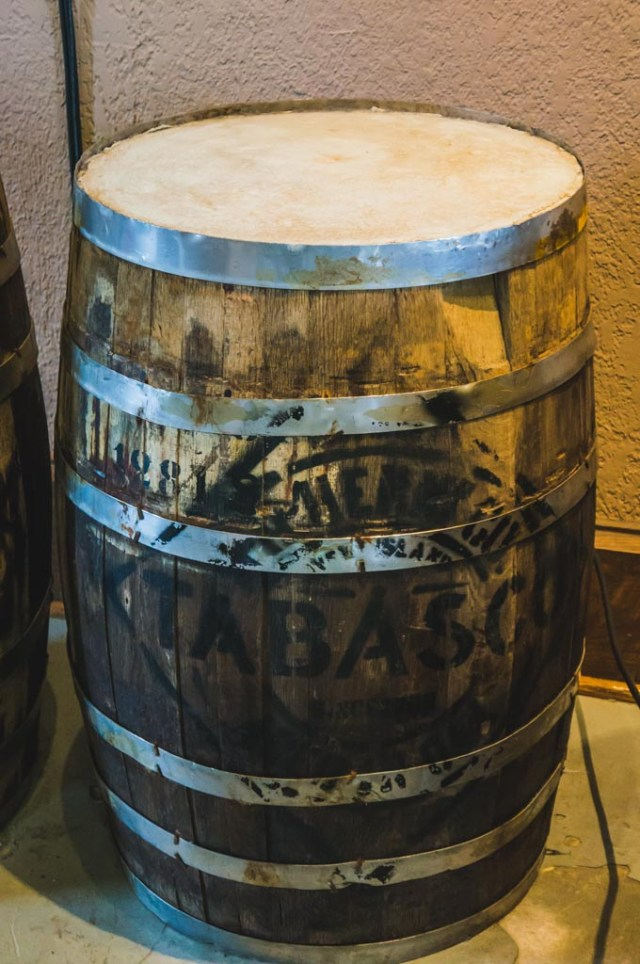 Tabasco Sauce Barrel