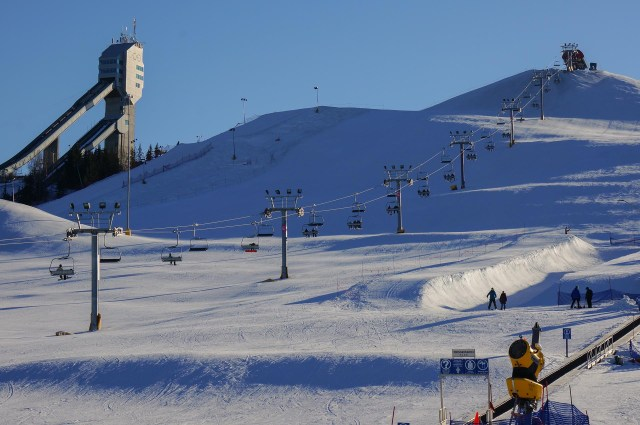 Canada Olympic Park Cagalry