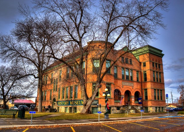 Museum at Central School Kalispell Montana