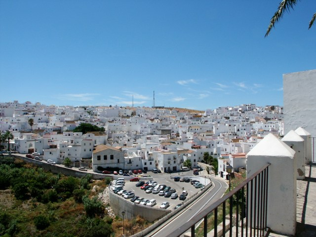 White Village in Spain