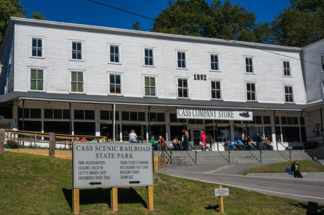 Cass Scenic Railroad Station House