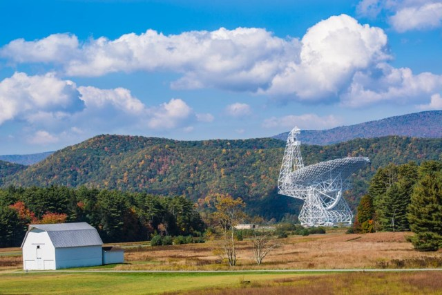 National Radio Astronomy Observatory West Virginia Scenic Drive