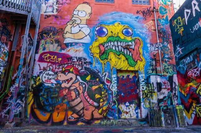Rapid City South Dakota Art Alley