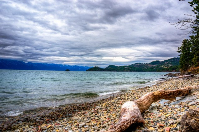 Lake in Kalispel, Montana