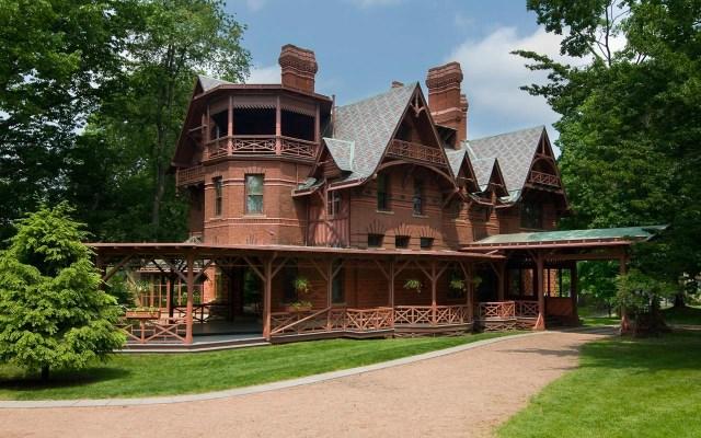 Mark Twain House - Hartford, Connecticut ( source)