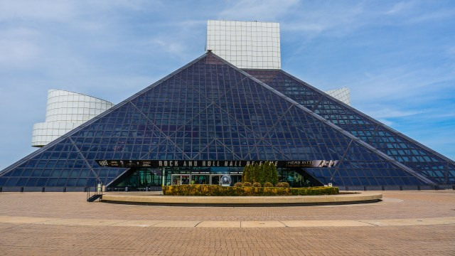 Rock & Roll Hall of Fame in Cleveland, OH
