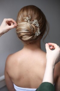 Simple and Best Wedding Hairstyles Low Bun | WeddingHairstyles