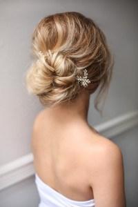 Bridal Hairstyles Low Bun t