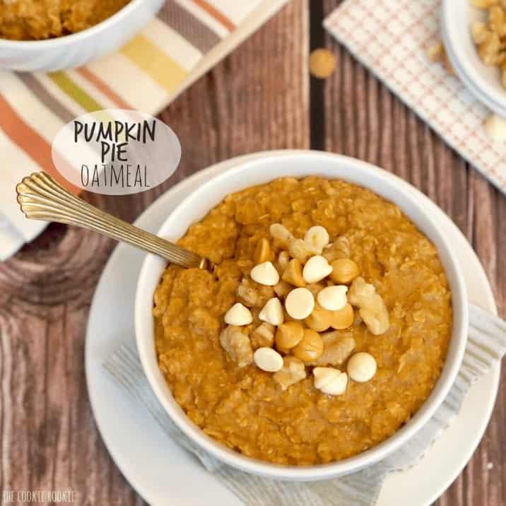 super easy pumpkin oatmeal recipe