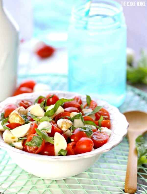 Chopped Caprese Salad Recipe VIDEO The Cookie Rookie174