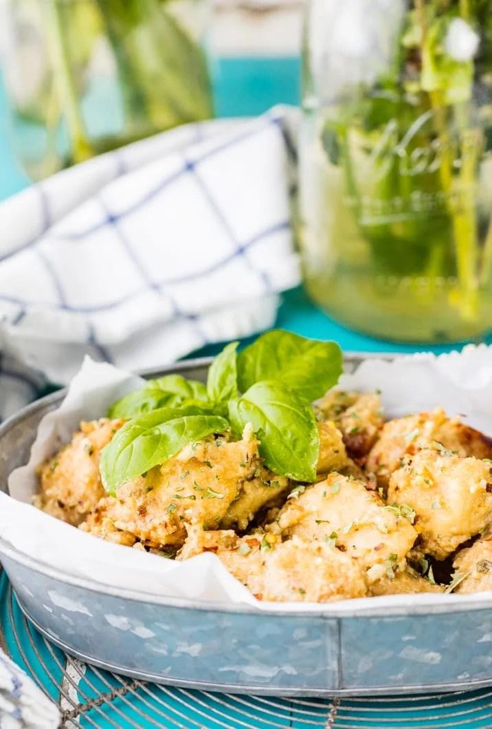 garlic parmesan wings recipe