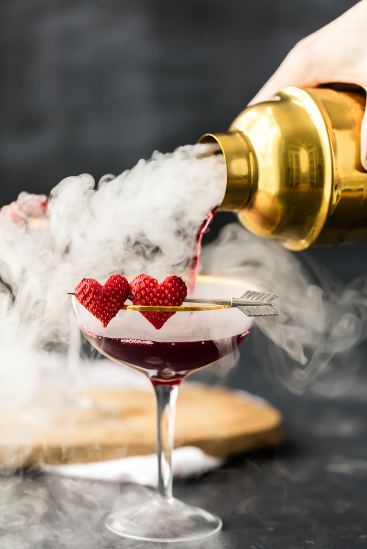 Love Potion 9 Martini Triple Berry Martini The Cookie