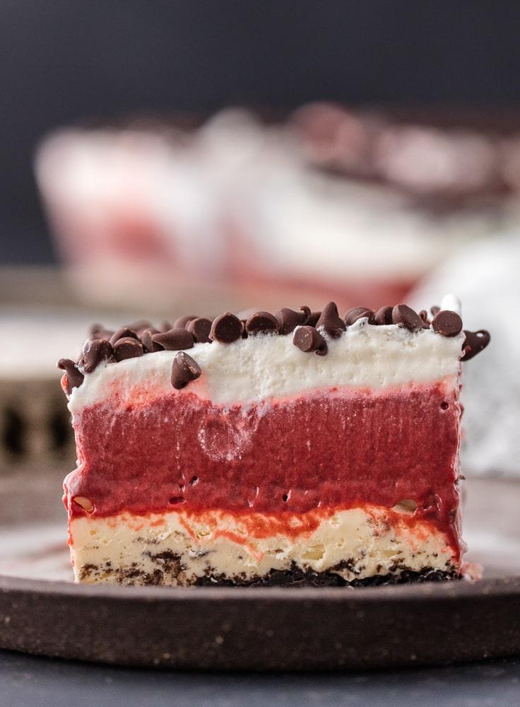 Red Velvet Dessert Lasagna The Cookie Rookie
