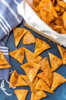 Cool Ranch Doritos are fun, tasty, easy, and cheap to make at home! This homemade Doritos recipe will impress your family and is sure to be made again and again. Once you learn How to Make Doritos you'll never go back to buying bag after bag. You'll be in love with this Cool Ranch Doritos Recipe and want to learn how to make all the flavors.