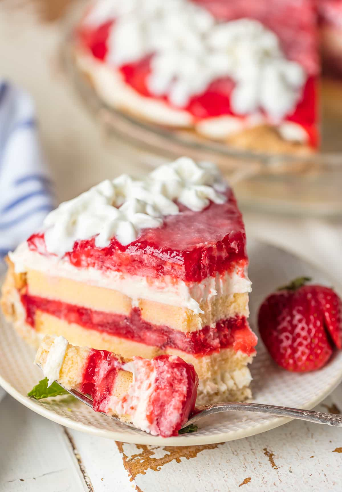 Strawberry Shortcake Pie The Cookie Rookie