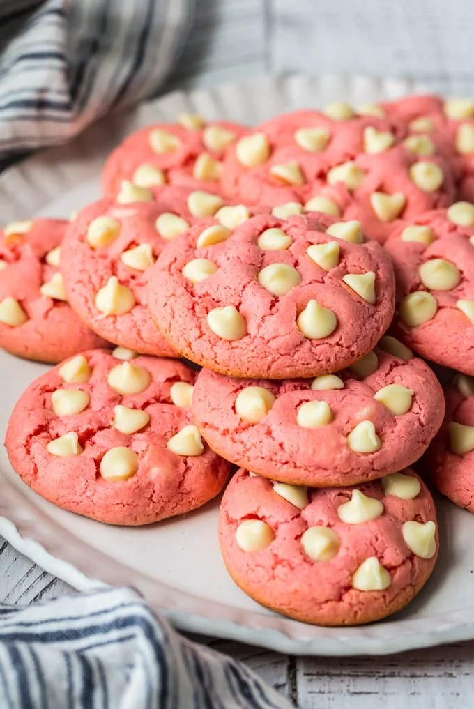 Strawberry Cookies Strawberry Cake Mix Cookies Video