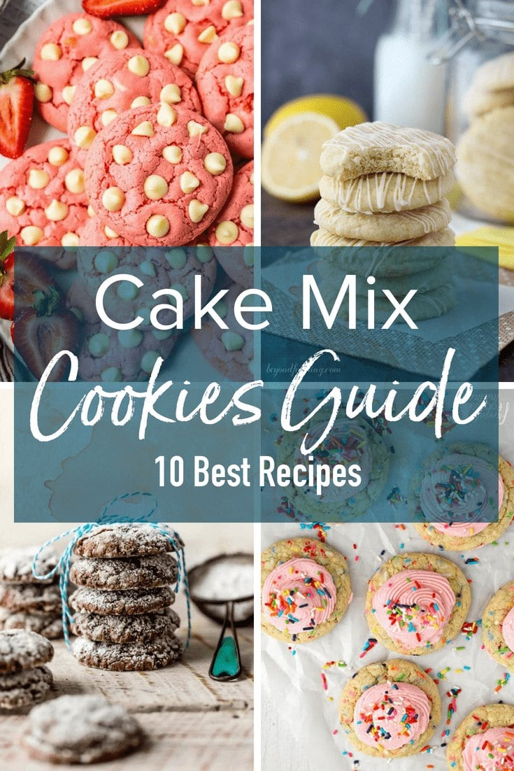 10 Cake Mix Cookies Recipes Box Cake Mix Hack The